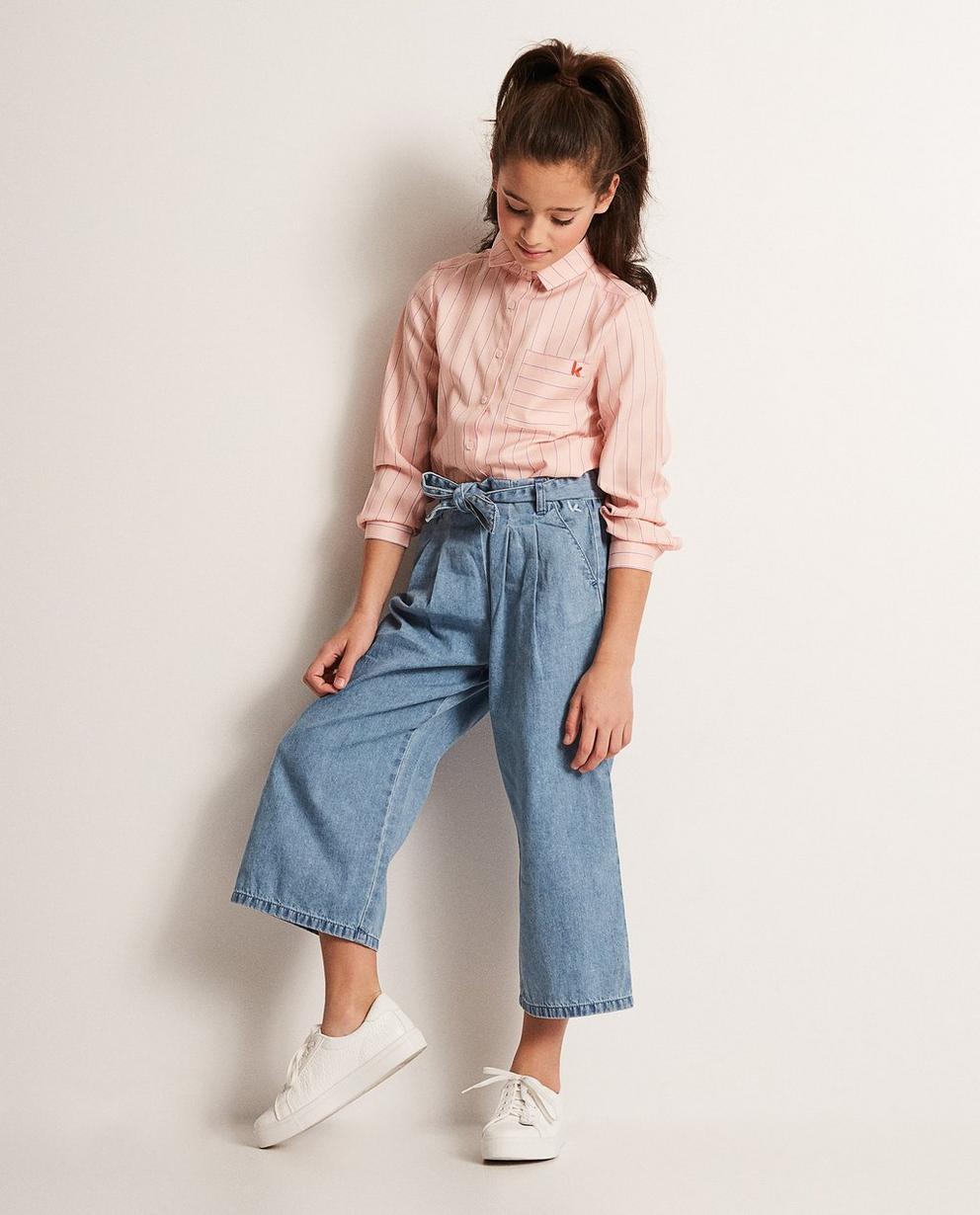 Jupe-culotte en jeans - Ketnet - Ketnet